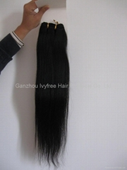 100% Chinese Virgin Remy Human Hair Weft