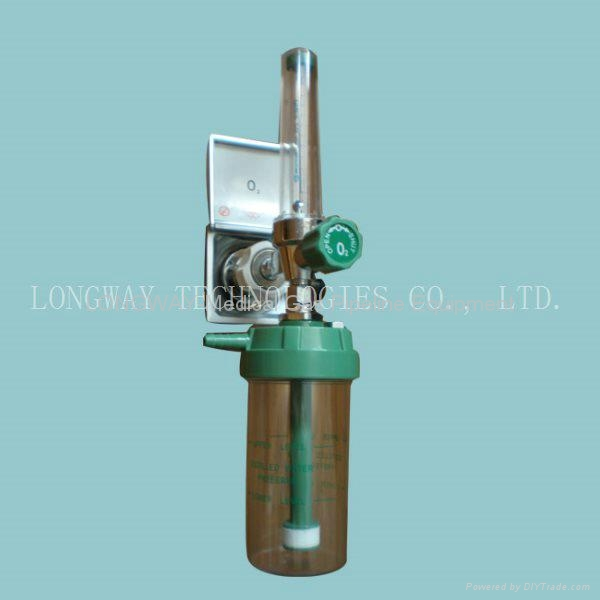 Oxygen Flowmeter with Humidifier 5
