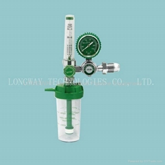 Oxygen Regulator with Humidifier bottle
