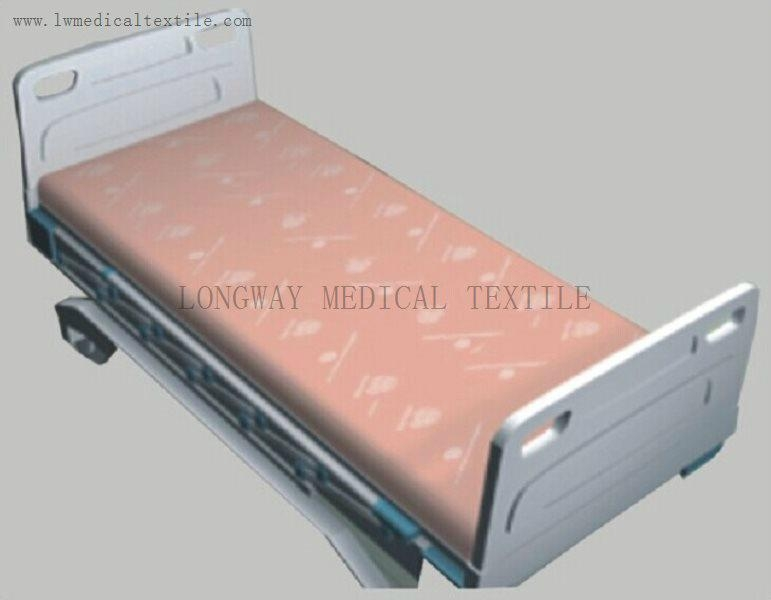 Hospital Bed Linen of pure colors 2
