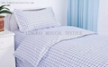checked Hospital Bed Linen