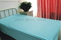 Hospital Bed Linen with stripes 2