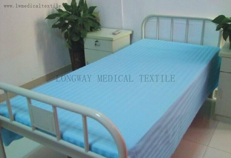 satin stripes Hospital Bed Linen  4