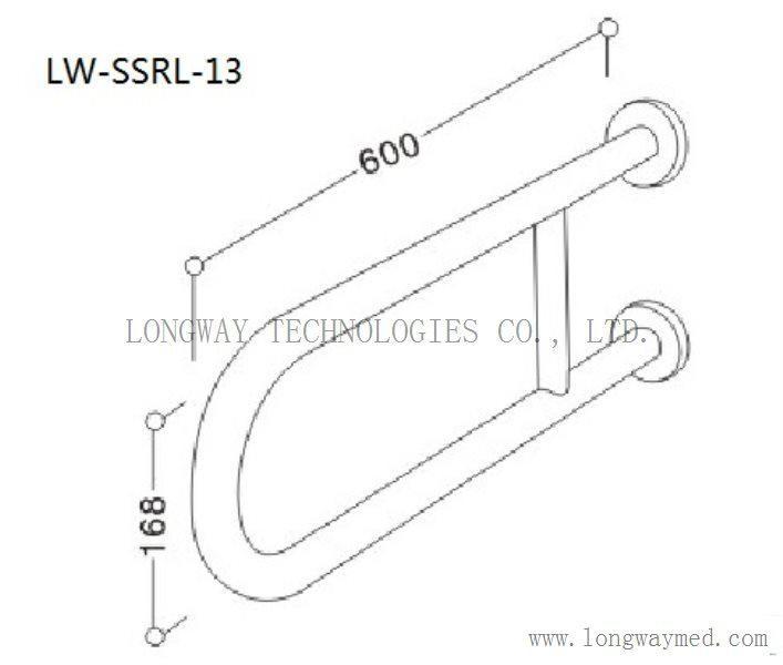 LW-SSRL-13 Stainless Steel Hand Rail 2