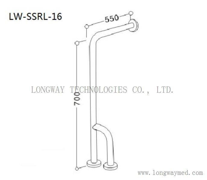 LW-SSRL-16 Stainless Steel Hand Rail 2