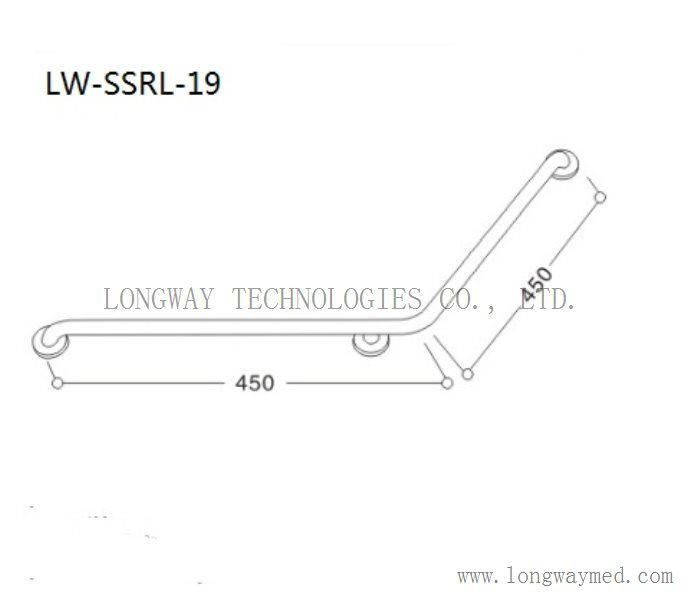 LW-SSRL-19 Stainless Steel Hand Rail 2