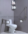 LW-SSRL-21 Stainless Steel Hand Rail for Urinal 4