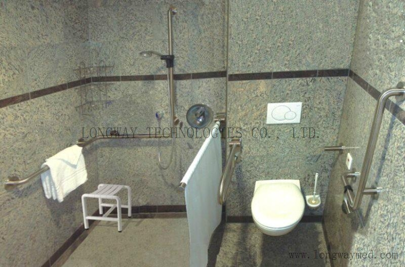 LW-SSRL-21 Stainless Steel Hand Rail for Urinal 6