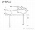 LW-SSRL-22 Stainless Steel Hand Rail for bathroom basin