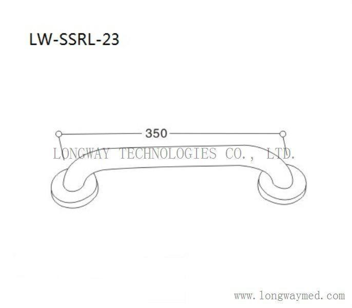 LW-SSRL-23 Stainless Steel Grab Bar 2