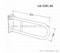 LW-SSRL-60 Foldable Stainless Steel Hand Rail 2
