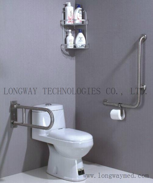 LW-SSRL-60 Foldable Stainless Steel Hand Rail 3