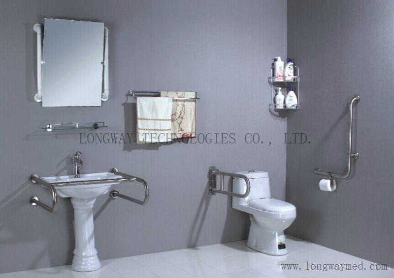 LW-SSRL-75 Stainless Steel Hand Rail for bathroom basin 5