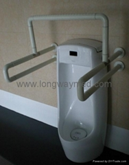 Nylon Grab bar for bathroom urinal