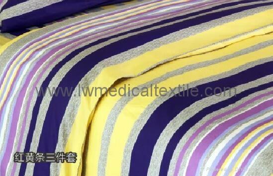 2cm yarn dyed stripes Hospital Bed Linen  1