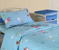 Hospital Bed Linen with carton design (bed sheet, pillow case duvet cover)  3