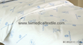 bleached white Hospital Bed Linen (bed sheet, pillow case duvet cover)