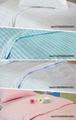 satin stripes Hospital Bed Linen (bed sheet pillow case duvet cover)