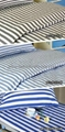 CVC stripes Hospital Bed Linen (bed sheet pillow case duvet cover) 2