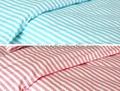 CVC stripes Hospital Bed Linen (bed