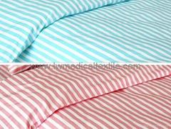 CVC stripes Hospital Bed