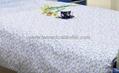 Hospital Bed Linen with flower design (bed sheet, pillow case duvet cover)  4