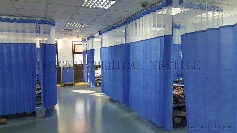 Disposable hospital Cubicle Curtain 1