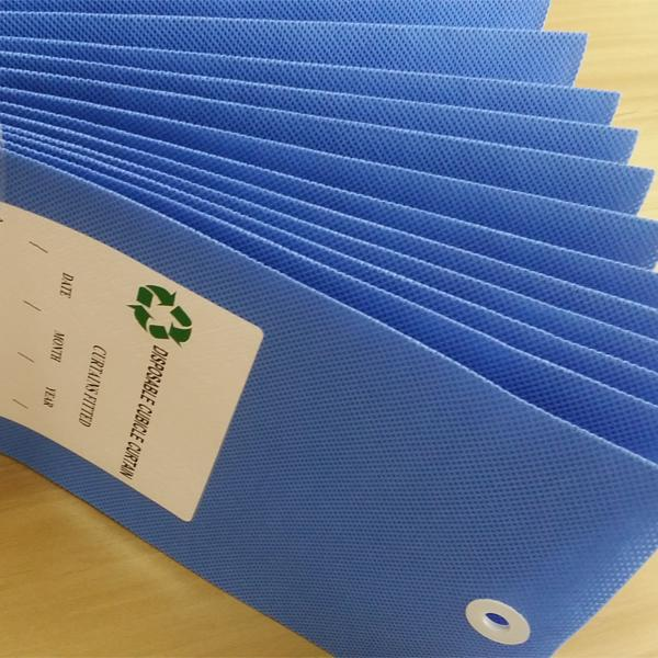 Non-woven Disposable Recyclable Hospital Cubicle Curtain 2