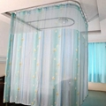 Double-side Printed Permanently flame retardant Hospital Cubicle Curtain 2
