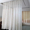 Double-side Printed Permanently flame retardant Hospital Cubicle Curtain 5