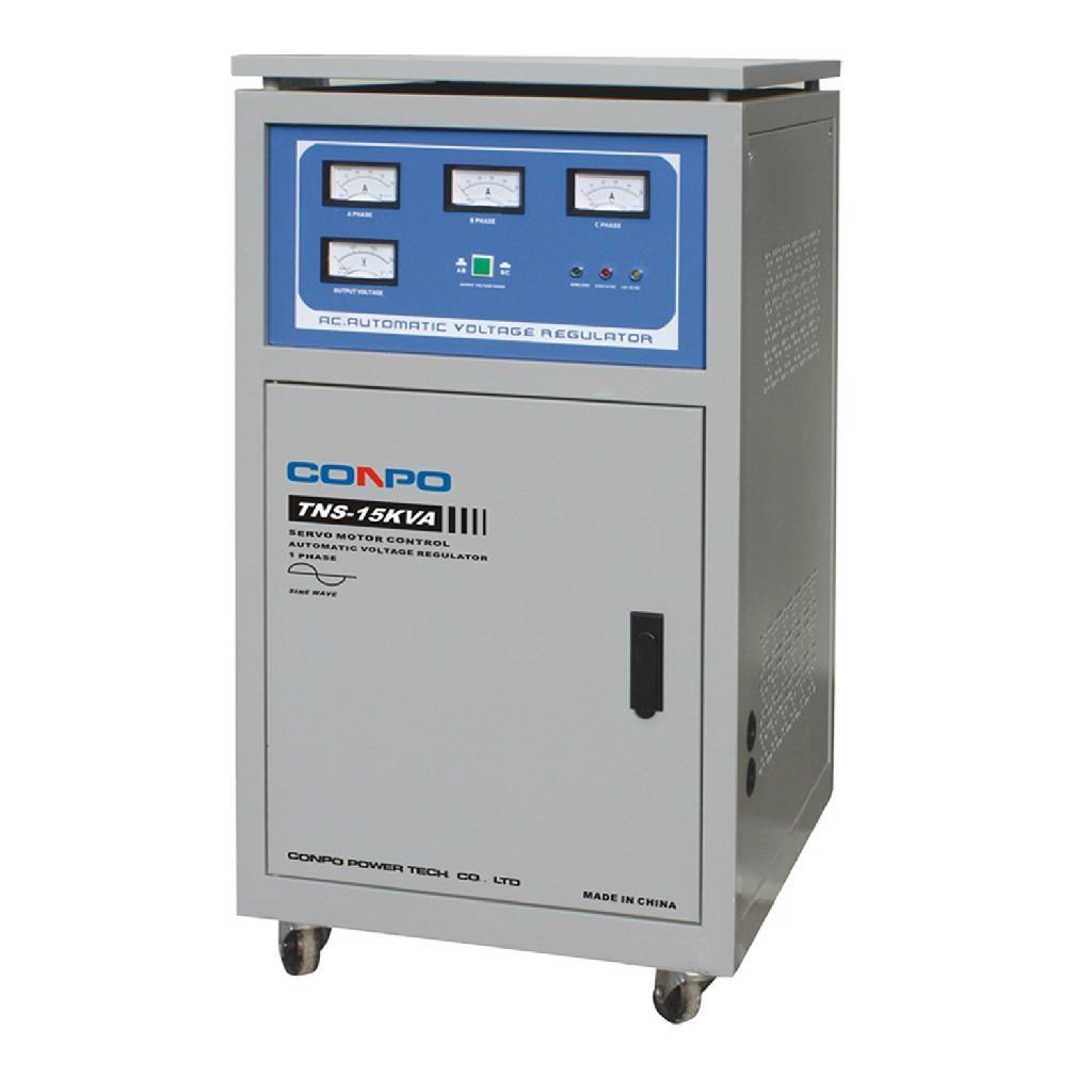 Servo tyoe Automatic Voltage Regulator  4
