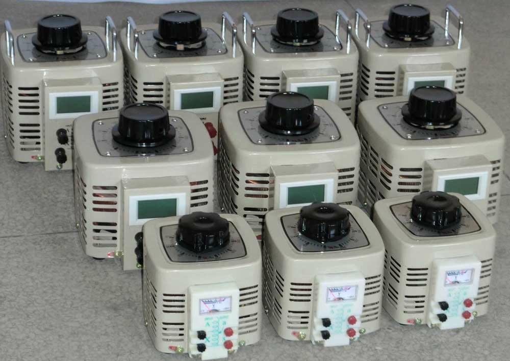 Contact Variable Transformer 1phase 10KVA 2