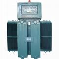 Oil type immersed Induction Voltage Stabilizer regulator TNSJA-II-500KVA 4
