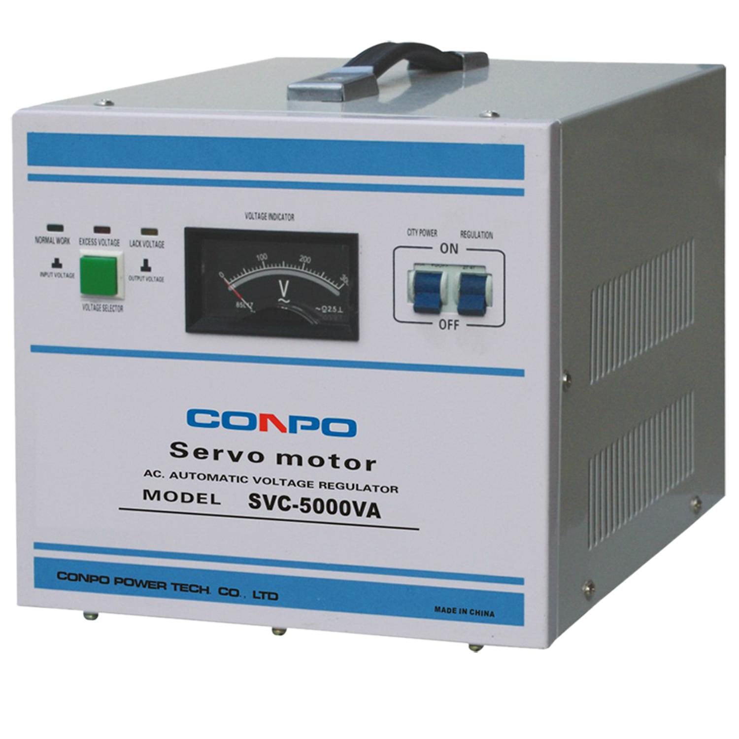 SVC(NEW) series Servo type 1phase Automatic Voltage Stabilizer regulator 3