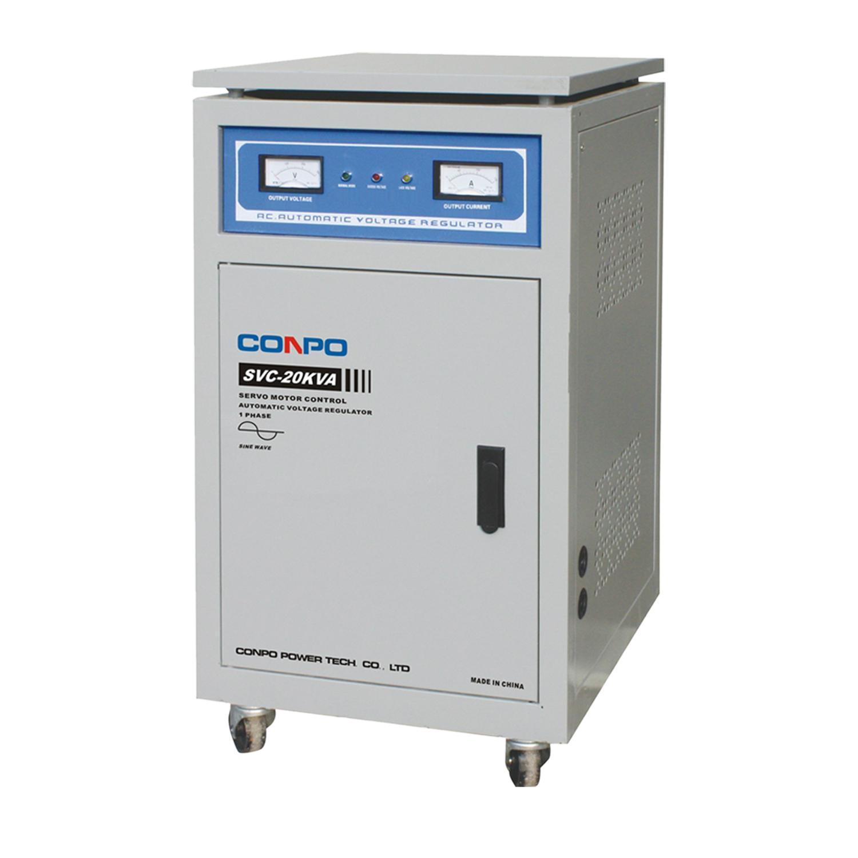 SVC(NEW) series Servo type 1phase Automatic Voltage Stabilizer regulator 5