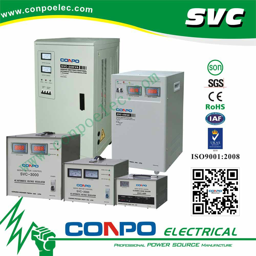 SVC series Servo type 1phase Automatic Voltage Stabilizer  1