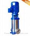 GDLF立式多级不锈钢管道离心