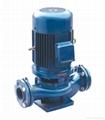 GD立式单级管道式离心泵