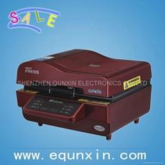 new type 2013 3D mini sublimation printing machine Sublimation Vacuum machine