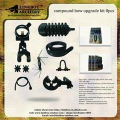 Linkboy archery compound bow upgrade kit 8pcs for archery hunting