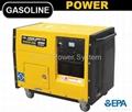 7.5kw Silent Type Gasoline generator