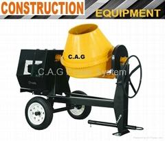 350L 2-Wheels Concrete Mixer