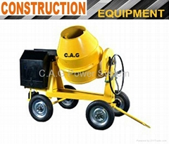350L 4-Wheels Concrete Mixer