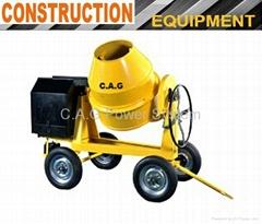 350L 4-Wheels Concrete Mixer