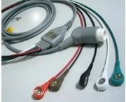 德恩五導夾式心電導聯線 1