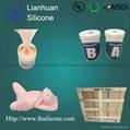 Lifecasting liquid Silicone material