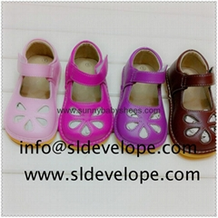 New Design Popular Baby Squeaky Shoes SL16073