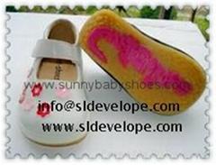 Baby Toddler Girl Squeaky Sneakers