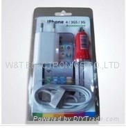 Iphone car charger & travel charger