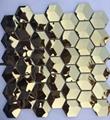 六角形不锈钢马赛克 金属马赛克 1